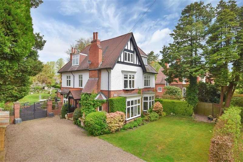 6 Bedrooms Detached House for sale in Alverston Avenue, Woodhall Spa, Lincolnshire