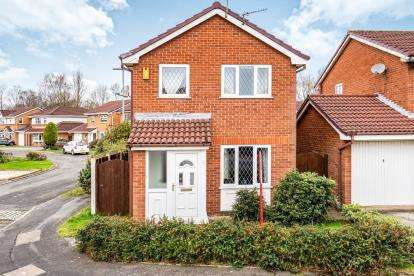 3 Bedrooms Detached House for sale in Lockerbie Close, Warrington, Cheshire