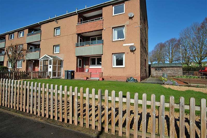 2 Bedrooms Ground Flat for sale in 60 Summerfield, Earlston TD4 6ET