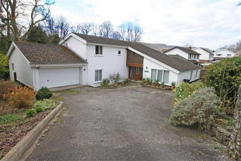 4 Bedrooms Detached House for sale in Lon Las, Llwydcoed, Aberdare, Mid Glamorgan