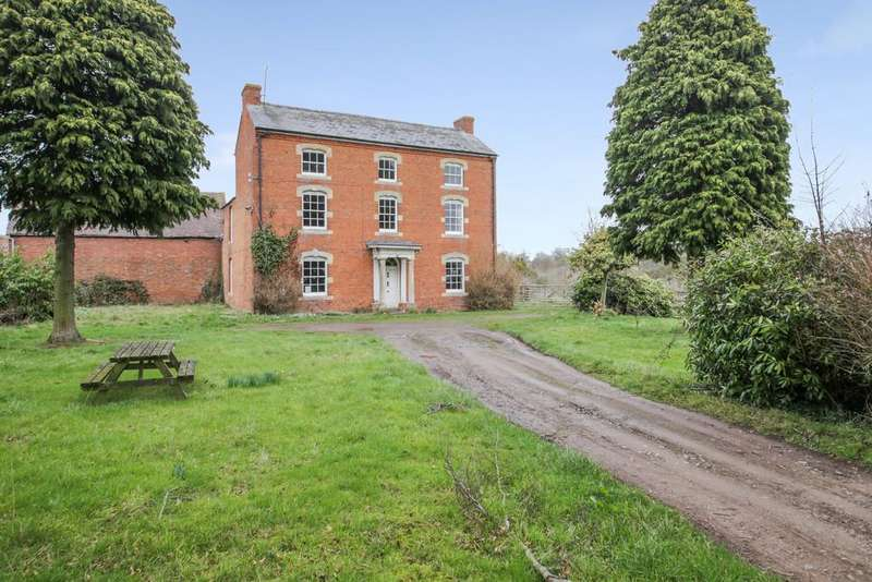 6 Bedrooms Farm House Character Property for sale in Nash, Ludlow, Shropshire, SY8 3AX