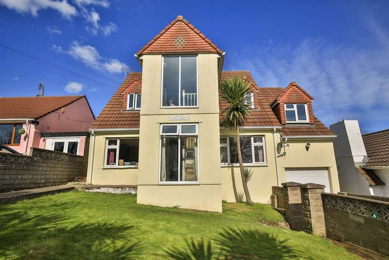 5 Bedrooms Detached House for sale in Mountain Road, Bedwas, Caerphilly
