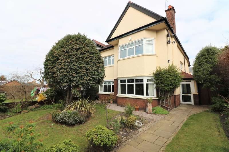 4 Bedrooms Semi Detached House for sale in Bellfield Crescent, Wallasey, CH45 9JR