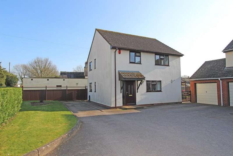 4 Bedrooms Detached House for sale in Rusper Close, Plymtree, EX15