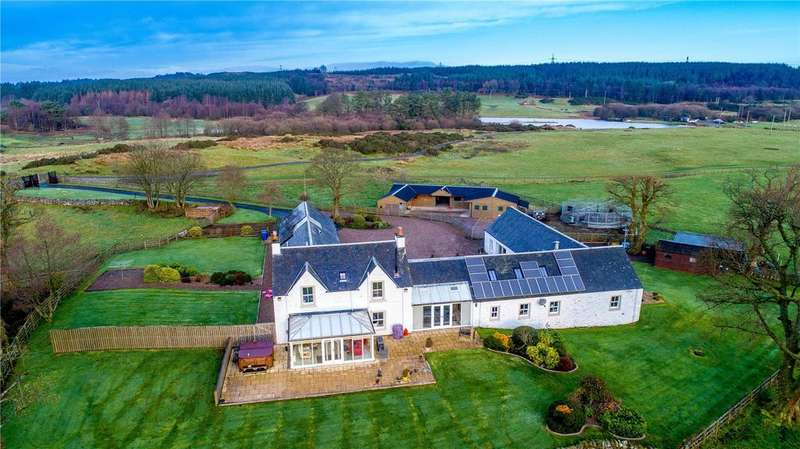 5 Bedrooms Unique Property for sale in Lawfield House, Houston Road, Kilmacolm, Renfrewshire, PA13