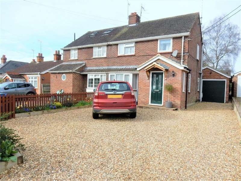 4 Bedrooms Semi Detached House for sale in Owlsmoor Road, Owlsmoor, Sandhurst, Berks
