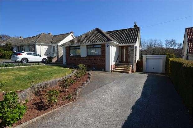 3 Bedrooms Detached Bungalow for sale in Ridgeway Road, Aller Park, Newton Abbot, Devon. TQ12 4LS