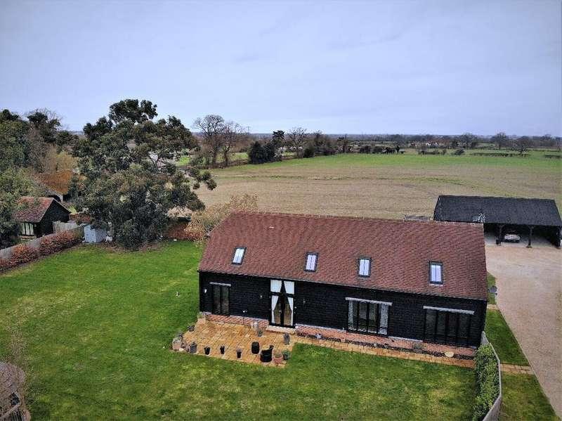 3 Bedrooms Detached House for sale in Rural Grazeley, RG7
