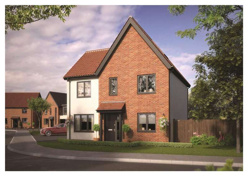 4 Bedrooms Detached House for sale in Plot 23, Fuller's Place, Mendham Lane, Harleston, IP20
