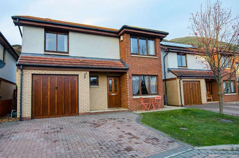 4 Bedrooms Detached House for sale in Clifford Park, Menstrie, Clackmannanshire, FK11 7AQ