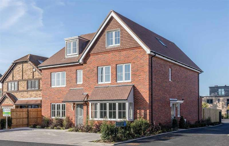 4 Bedrooms Semi Detached House for sale in Oakley Green, Windsor