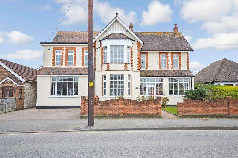 5 Bedrooms Detached House for sale in Lampits Hill, Corringham