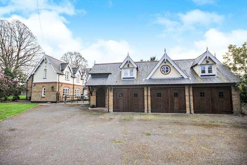 4 Bedrooms Detached House for sale in Kemnal Road, Chislehurst, BR7