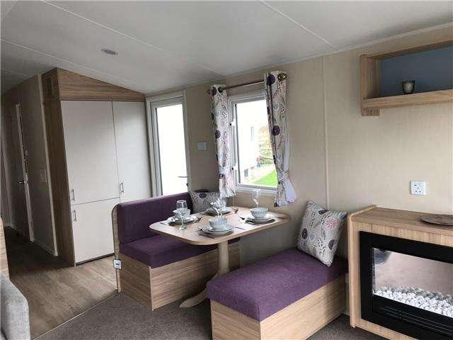 2 Bedrooms Caravan Mobile Home for sale in Brynowen Holiday Park Ceredigion