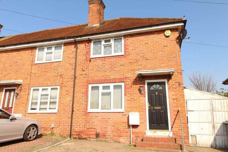 2 Bedrooms End Of Terrace House for sale in Merton Road North, Reading