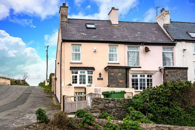 3 Bedrooms End Of Terrace House for sale in Bull Bay, Anglesey, North Wales