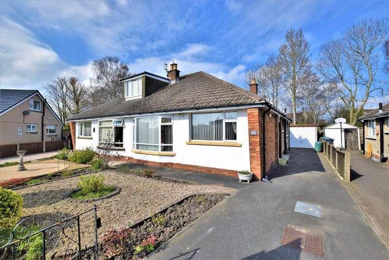 2 Bedrooms Semi Detached Bungalow for sale in Dorchester Road, Garstang, Preston, Lancashire, PR3 1EE
