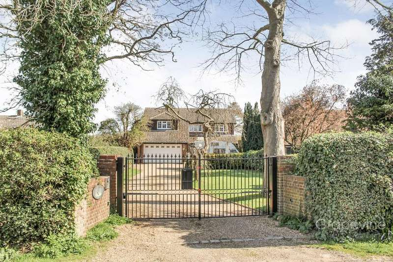 4 Bedrooms Detached House for sale in Milestone Avenue, Charvil, Reading