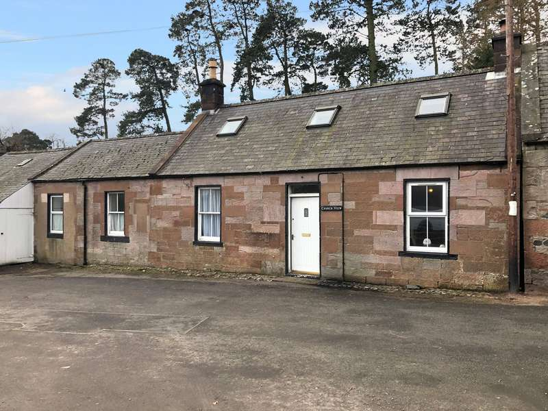 3 Bedrooms End Of Terrace House for sale in Church View, Penpont, Thornhill, Dumfries and Galloway, DG3