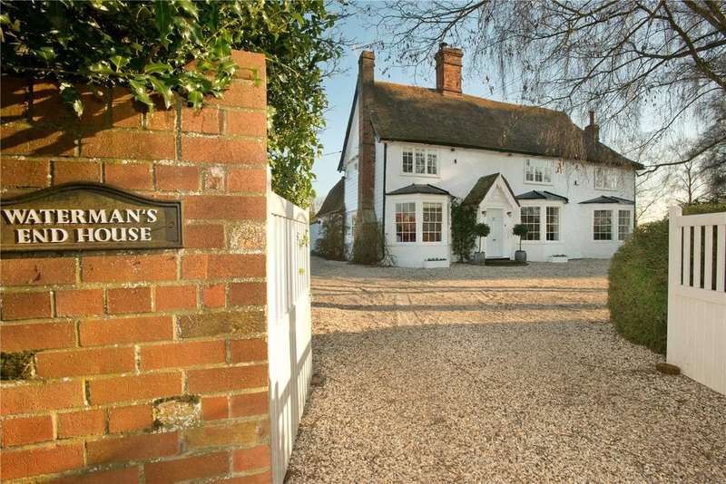 4 Bedrooms Detached House for sale in Waterman's End House, Waterman's End, Matching Green, Essex, CM17