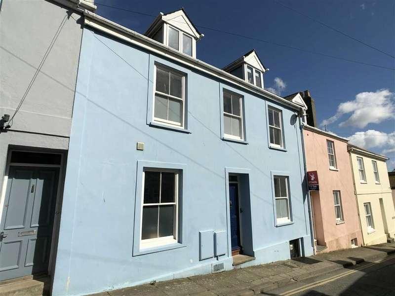 5 Bedrooms Semi Detached House for sale in Church Street, Salcombe, Devon, TQ8