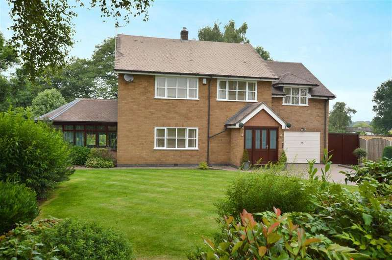 4 Bedrooms Detached House for sale in Rock Springs, Cloves Hill, Morley, Derbyshire