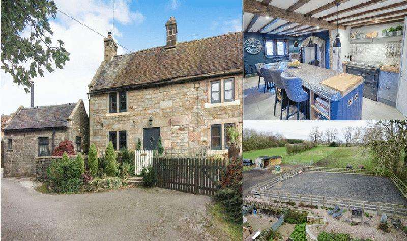 3 Bedrooms House for sale in Bank Farm, Butterton, Staffordshire. ST13 7SY