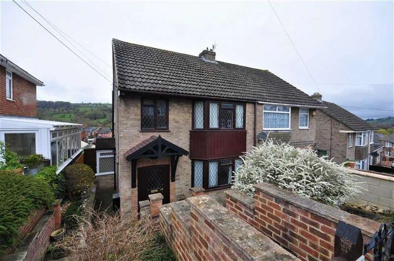 3 Bedrooms Semi Detached House for sale in Hill Close, Stroud