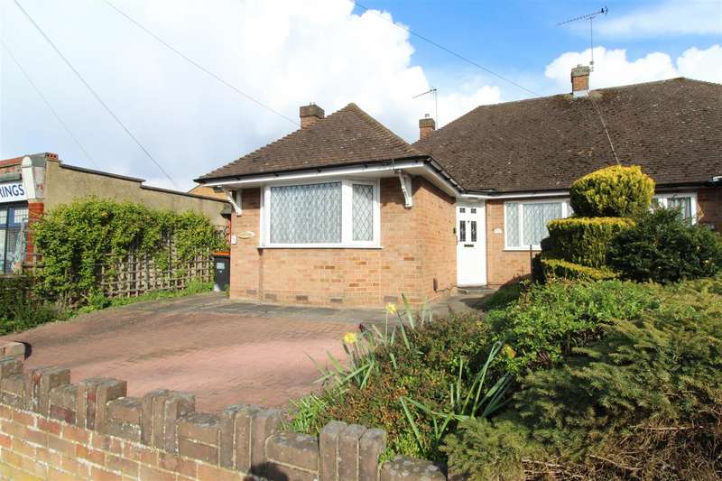 2 Bedrooms Semi Detached Bungalow for sale in Chiltern Road, Dunstable