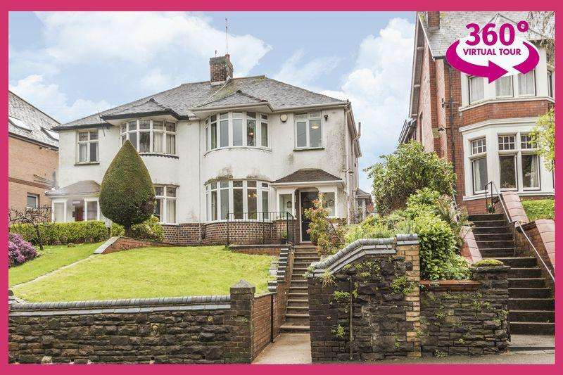 3 Bedrooms Semi Detached House for sale in Bassaleg Road, Newport - REF# 00006605 - View 360 Tour at