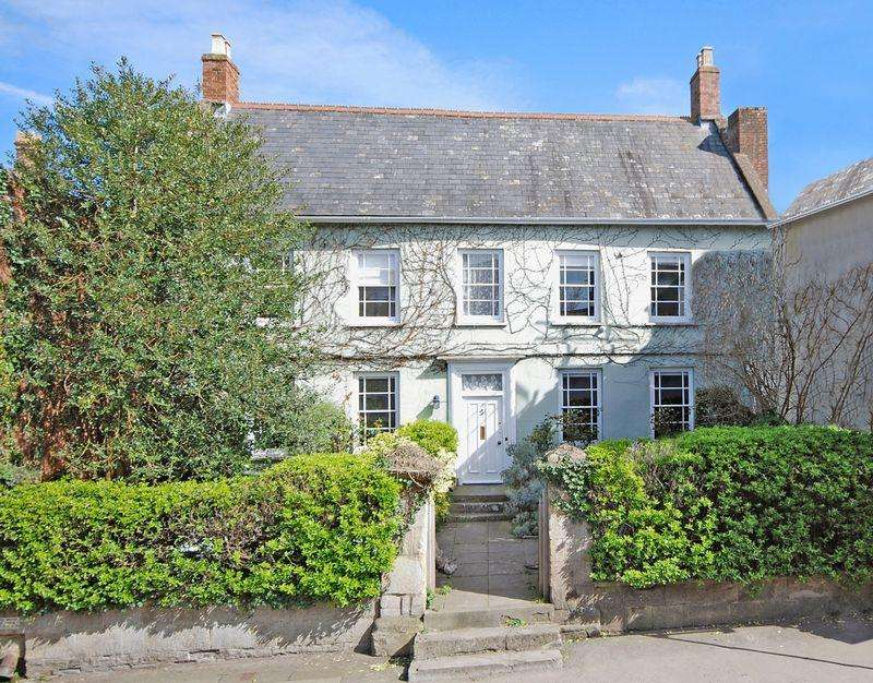 5 Bedrooms Detached House for sale in Glastonbury. (Grounds of the Abbey)