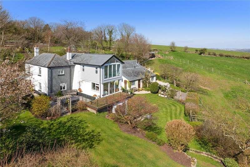 4 Bedrooms Detached House for sale in Dittisham, Dartmouth, Devon, TQ6