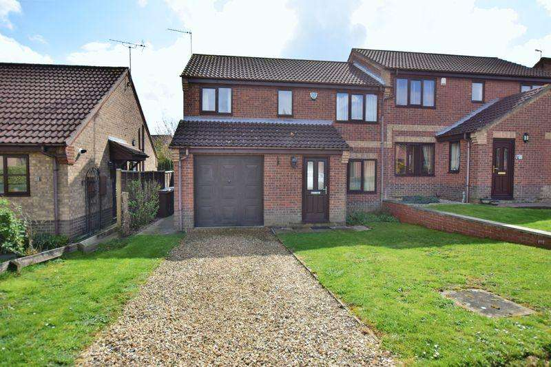 3 Bedrooms Semi Detached House for sale in Stoyles Way, Heighington, Lincoln