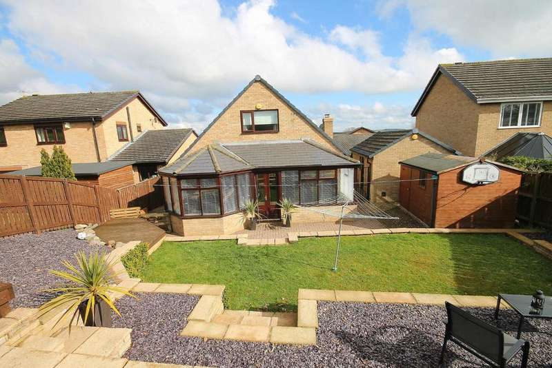 4 Bedrooms Detached Bungalow for sale in Maple Close, Sunnybrow, Crook