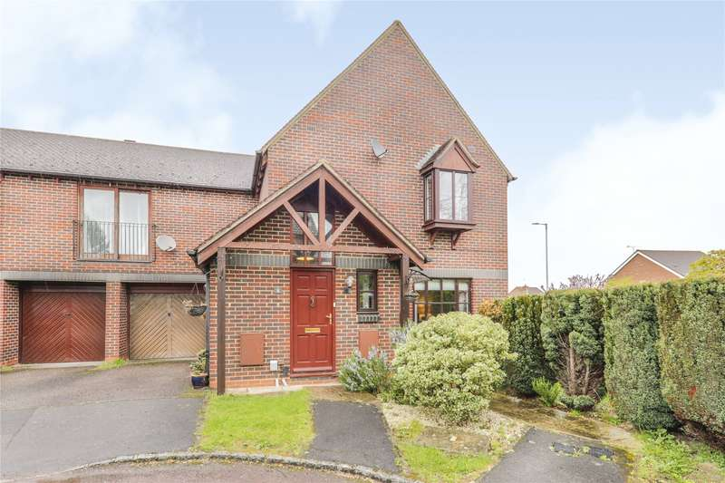 2 Bedrooms Maisonette Flat for sale in Chives Place, Warfield, Bracknell, Berkshire, RG42