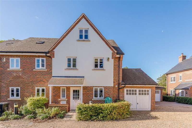 4 Bedrooms Semi Detached House for sale in Eleanore Place, Waverley Road, St. Albans, Hertfordshire