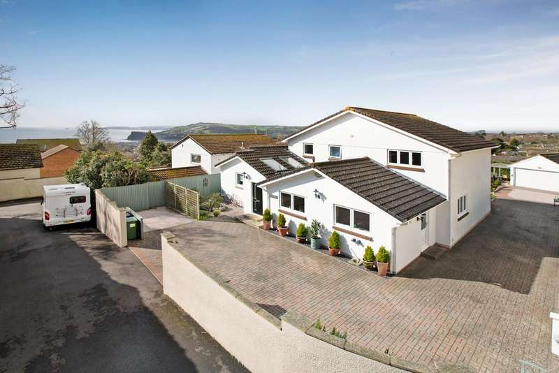 5 Bedrooms Detached House for sale in HIgher Woodway Road, Teignmouth, TQ14 8RB
