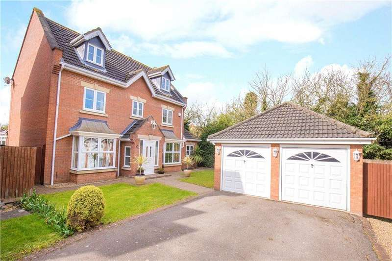 5 Bedrooms Detached House for sale in Smithcombe Close, Barton-le-Clay, Bedford, Bedfordshire