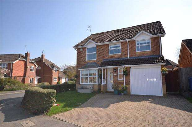 4 Bedrooms Detached House for sale in Dunford Place, Binfield, Bracknell