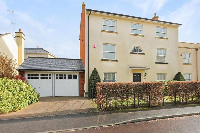 5 Bedrooms Detached House for sale in Rowena Cade Avenue, The Park, Cheltenham