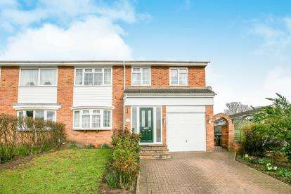 4 Bedrooms Semi Detached House for sale in Woolfield, Sandy, Bedfordshire, England