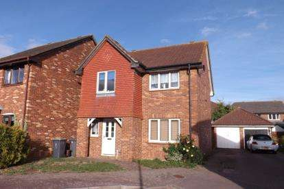 4 Bedrooms Detached House for sale in Starling Close, Sandy, Bedfordshire