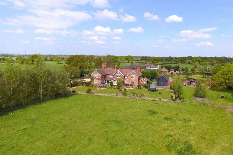 6 Bedrooms Detached House for sale in White Hall Lane, Warmingham, Sandbach, Cheshire, CW11