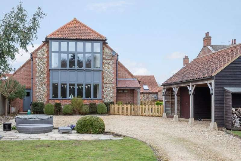 5 Bedrooms Barn Conversion Character Property for sale in Sculthorpe
