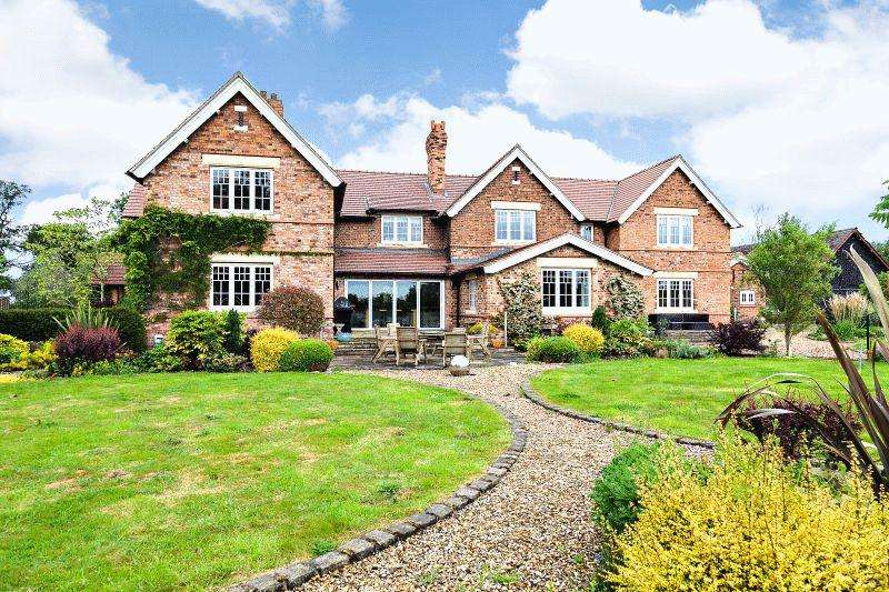 6 Bedrooms Detached House for sale in White Hall Lane, Warmingham