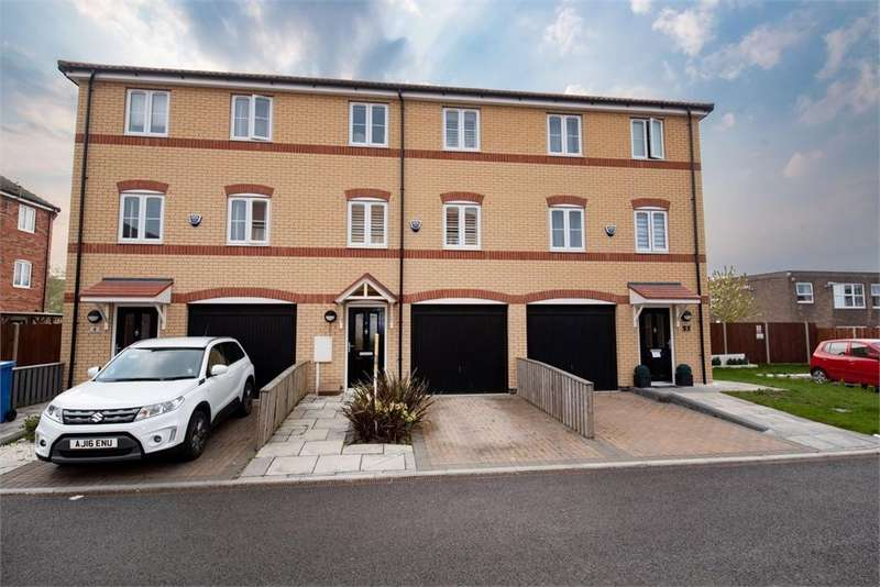 3 Bedrooms Terraced House for sale in Graylands Court, Boston, Lincolnshire