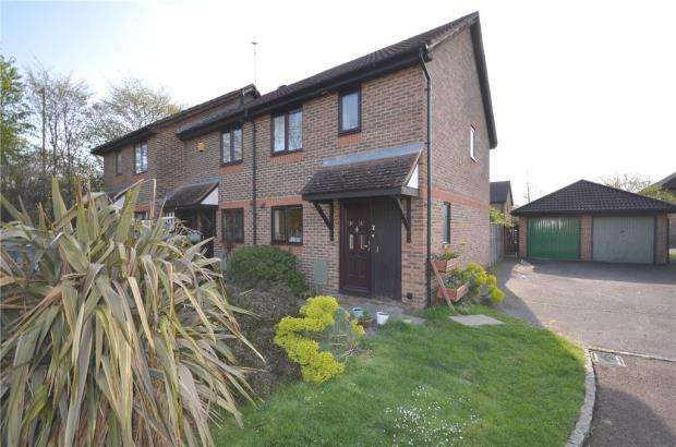 3 Bedrooms Semi Detached House for sale in Barley Mead, Warfield, Bracknell