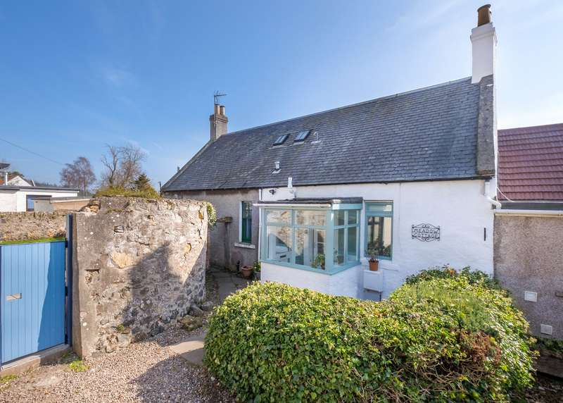 2 Bedrooms Terraced House for sale in Meadow Cottage, Meadow Road, Barnyards, Kilconquhar, Fife, KY9