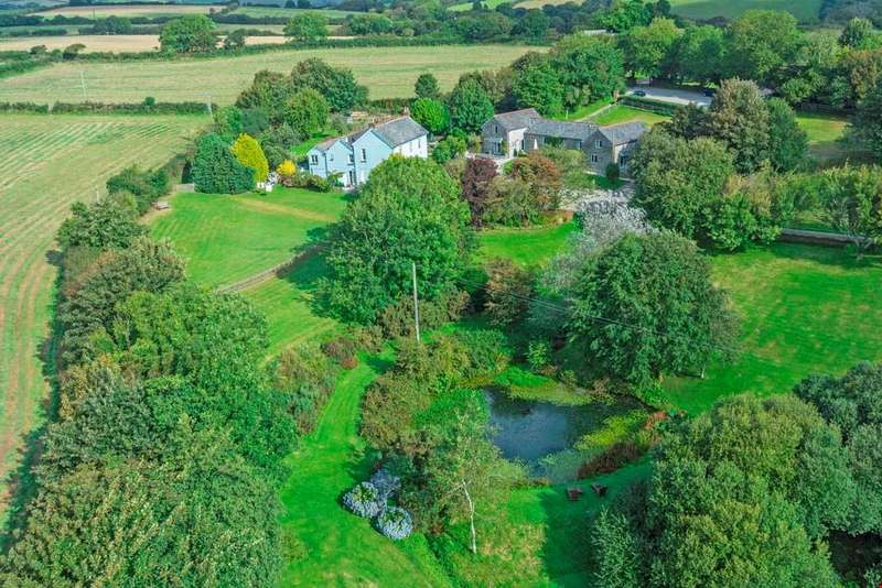 4 Bedrooms Detached House for sale in Fowey, South Cornwall
