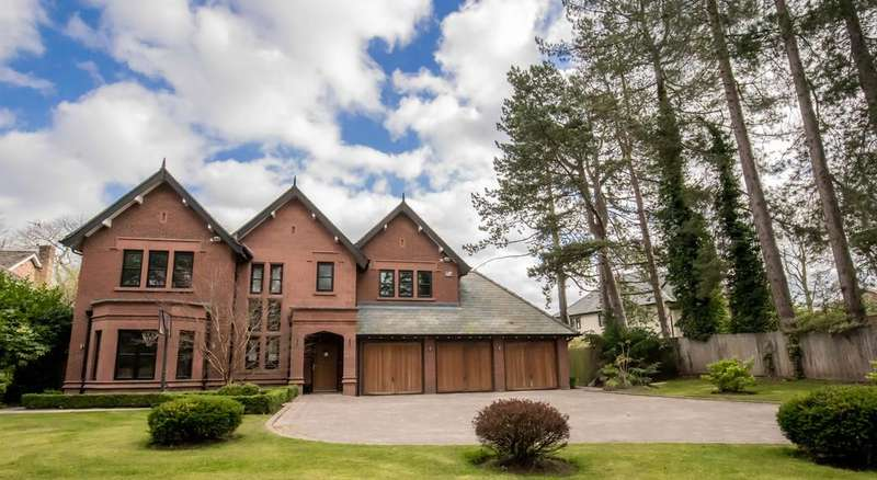 5 Bedrooms Detached House for sale in Wilmslow Park South, Wilmslow